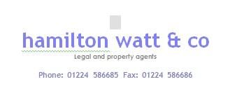 Hamilton Watt & Co